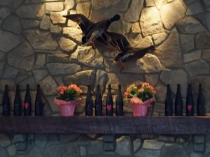 Creeks Edge Winery Fireplace