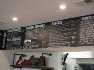 Aldie General Store and Cafe Menu